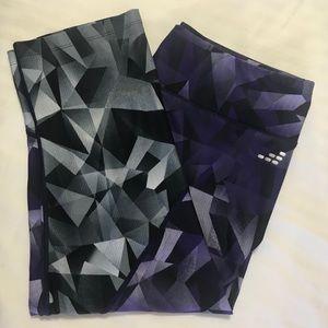 BCG Women's Athletic Printed Training Capri Pants